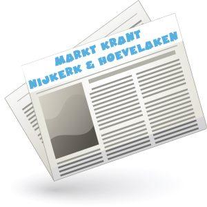 De Markt krant kom vandaag uit